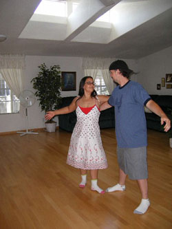 Anyone can learn ballroom dance